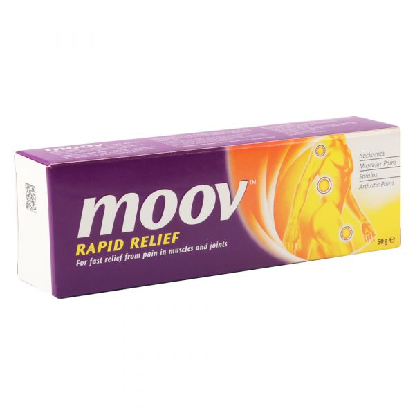 Moov Rapid Relief From Pain In Muscles And Joints 50g