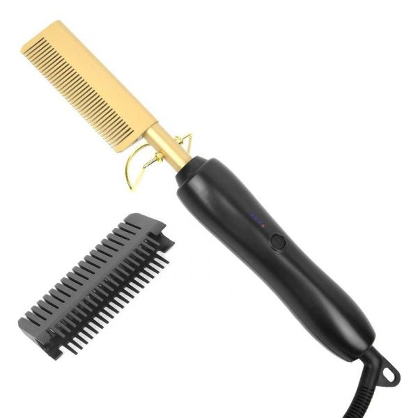 Straight Hair Curls Styling Comb
