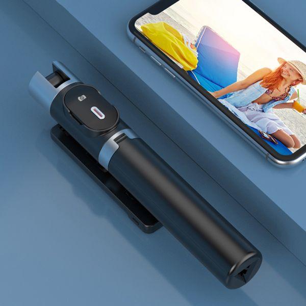 Stand 2 LED Mini Live Broadcast Selfie Stick, P60D-2