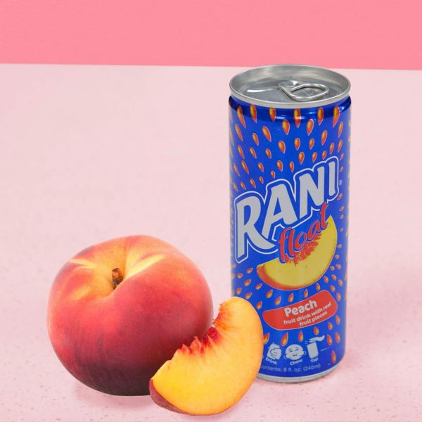 Rani Float Peach With Real Fruit Pieces 240ml*24 Cans
