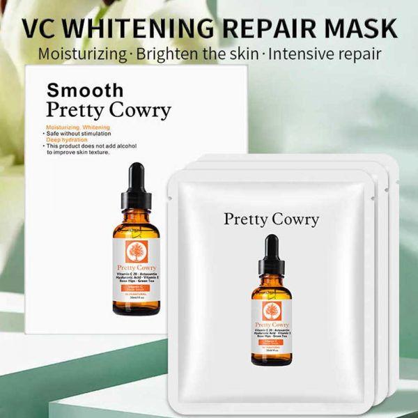Smooth Pretty Cowry Moisturizing Whitening Mask 20g*3