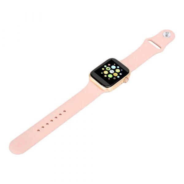 BSNL Watch 7 Bluetooth Call Full Touch Smartwatch, Pink